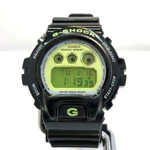 G-SHOCK CASIO Casio watch DW-6900CS-1 Crazy Colors Black Lime Yellow Quartz Multi Alarm Fully Automatic Calendar Men's