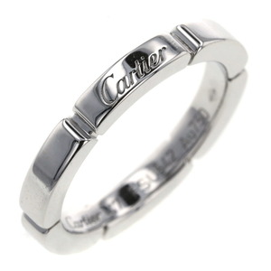 Cartier Ring Mayon Panther K18 White Gold No. 7 Ladies