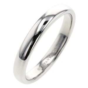 Tiffany Ring Classic Band Platinum PT950 No. 14 Ladies