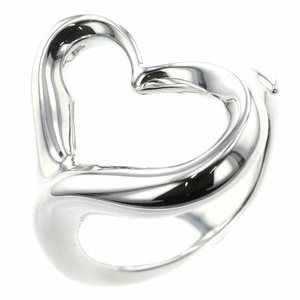 Tiffany Rings / Open Heart Silver 925 12.5 Ladies