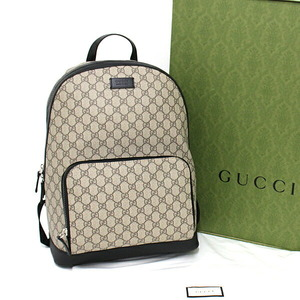 Gucci GUCCI Online Limited GG Supreme Canvas Backpack 406370