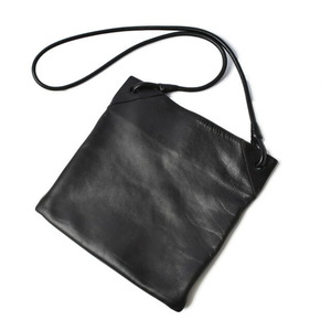 Bottega Veneta Shoulder Bag Messenger Men's Vintage Leather Black