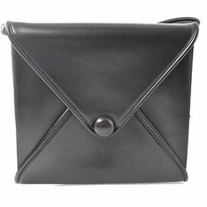 Hermes HERMES Box Calf Vintage Shoulder Bag Black
