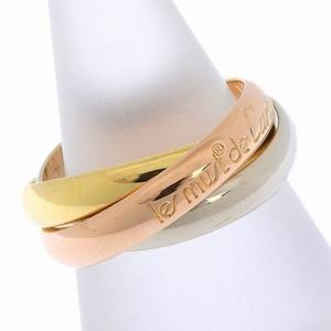 CARTIER Cartier Trinity K18 ring