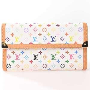 Louis Vuitton LOUIS VUITTON Multi Portofeuil International Wallet Multicolor PVC