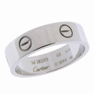 CARTIER Cartier 18k White Gold Love Ring