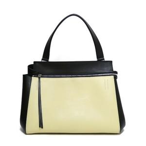 CELINE Celine Handbag Edge Black Ladies