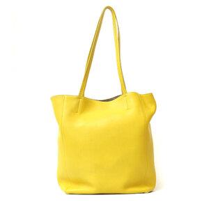 CELINE Celine Shoulder Bag Hippo Phantom Tote 2way Yellow Ladies