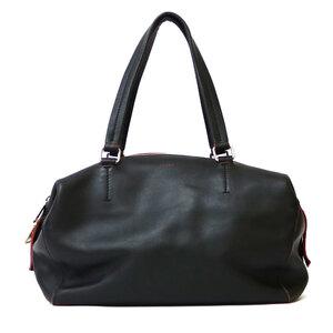 CELINE Celine Shoulder Bag Marine Boston Back 2way Black Ladies
