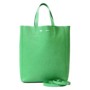 CELINE Celine Shoulder Bag Cover Vertical Small Tote 2way Green Ladies