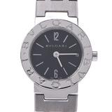 BVLGARI Bvlgari 23 BB23 Stainless Steel Ladies Watch Quartz Black Dial