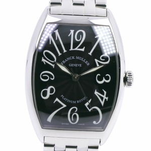 FRANCK MULLER Franck Muller Tono Carbex 6850SC Stainless Steel Self-winding Men's Black Dial Watch