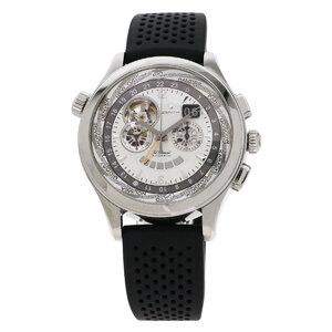 Zenith 03.0520.4037 01.C492 Grand Class Open Traveler Multicity Watch Stainless Steel Rubber Men