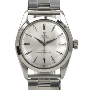 Tudor Watches Silver 7934 Stainless Steel Manual Winding TUDOR Oyster Antique Men's Alpha Hand Dial