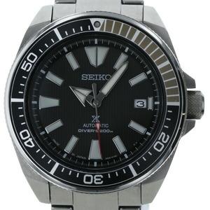 セイコー SEIKO プロスペックス ダイバー 4R35-01V0 自動巻き ブラック文字盤 メンズ 時計