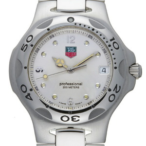 TAG Heuer Kirium Men's Watch WL1114 Stainless Steel Silver Arabian Dial