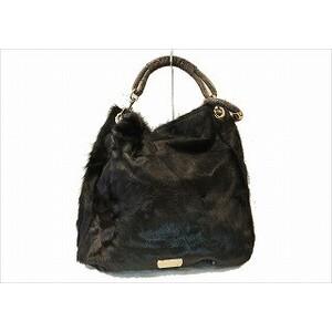 Jimmy Choo Bag JIMMY CHOO Sky Handbag Harako Brown Ladies