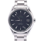 OMEGA Omega Seamaster Aqua Terra 150m 231.10.42.21.01.001 Men's Stainless Steel Watch Automatic Black Tapestry Dial