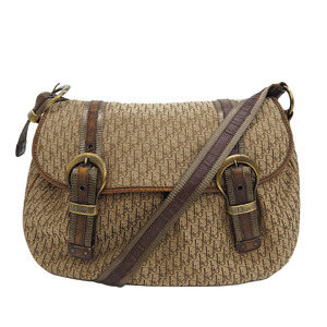 Christian Dior Trotter Messenger Bag Brown