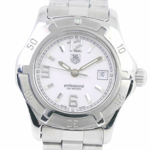 TAG HEUER Exclusive 2000 WN1311 Stainless Steel Quartz Ladies White Dial Watch