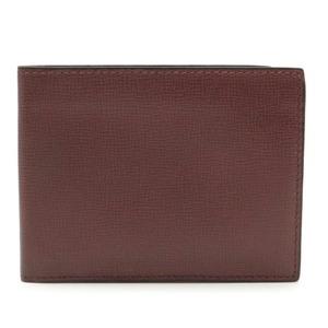 valextra Valextra by Bi-Fold Wallet Leather Bordeaux