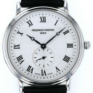 フレデリックコンスタント FREDERIQUE CONSTANT クラシック スリムライン FC235X3S5 クォーツ ホワイト文字盤 メンズ 腕時計