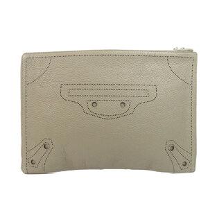 Balenciaga Clutch Bag Handbag Leather Ladies