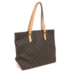 Louis Vuitton Shoulder Bag Hippo Mezzo M51151 Monogram Canvas Brown Ladies