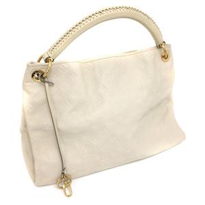 Louis Vuitton Shoulder Bag Artie MM M93449 Monogram Amplant Leather Neige Ladies