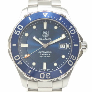 TAG Heuer Watch Aqua Racer Caliber 5 Men's Automatic Stainless Steel AN2111 Winding