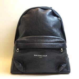 Balenciaga Exclusive Backpack Dark Navy Bag Rucksack Men's Women's Leather
