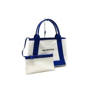 BALENCIAGA Navy Kabas S Tote Bag Handbag 339933