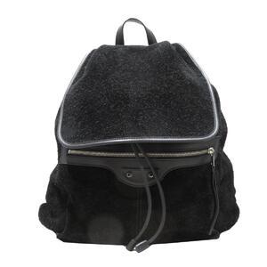 BALENCIAGA back bag rucksack ladies suede leather