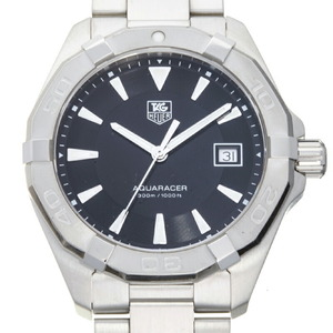 TAG Heuer Aquaracer Men's Watch WAY1110.BA0928 Stainless Steel Black Dial