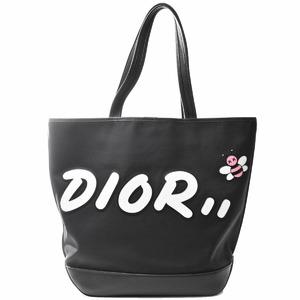 Christian Dior Nylon 2WAY Tote Bag KAWS Collaboration Japan Limited BEE Black