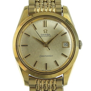 Omega Seamaster Automatic Gold Plated Men's Dress Watch