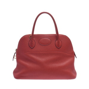 HERMES Hermes Bored 31 2WAY Bag Rouge Biff Gold Hardware Ladies Taurillon Clemence Handbag