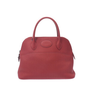 HERMES Hermes Bored 31 2WAY Bag Rouge Garance Silver Hardware Ladies Taurillon Clemence Handbag