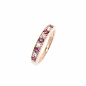 CARTIER Cartier colored stone No. 9.5 Ladies K18YG ring /
