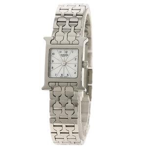 Hermes HH1.110 H Watch Mini Stainless Steel Ladies