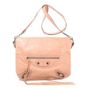 Balenciaga 246432 Metal fittings motif Shoulder bag Leather Ladies