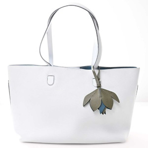 Christian Dior Blossom Leather Tote Bag Medium Blue