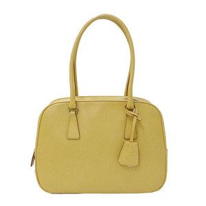 Prada PRADA Shoulder Bag Handbag Leather Beige