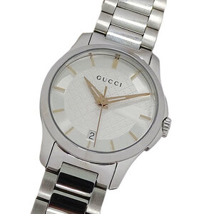 Gucci GUCCI Watch 126.5 YA126523 G Timeless Quartz Date Ladies