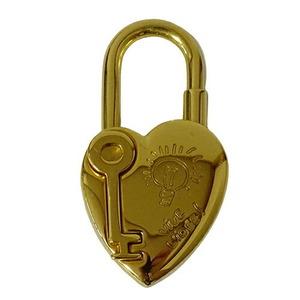 Hermes HERMES Cadena Heart Gold Rock