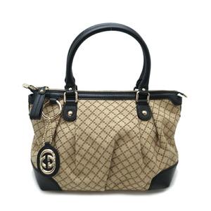 Gucci Diamante Sookie 2WAY Ladies Handbag 247902 Canvas Black