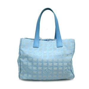 Chanel New Travel Line Tote MM Ladies Handbag A15991 Nylon