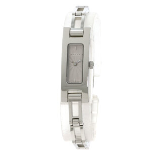 Gucci 3900L Square Face Watch Stainless Steel Ladies
