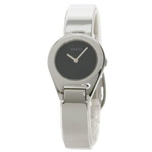 Gucci 6700L Round Face Watch Stainless Steel Ladies