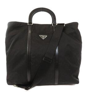 Prada BN1050 2WAY Handbag Nylon Unisex